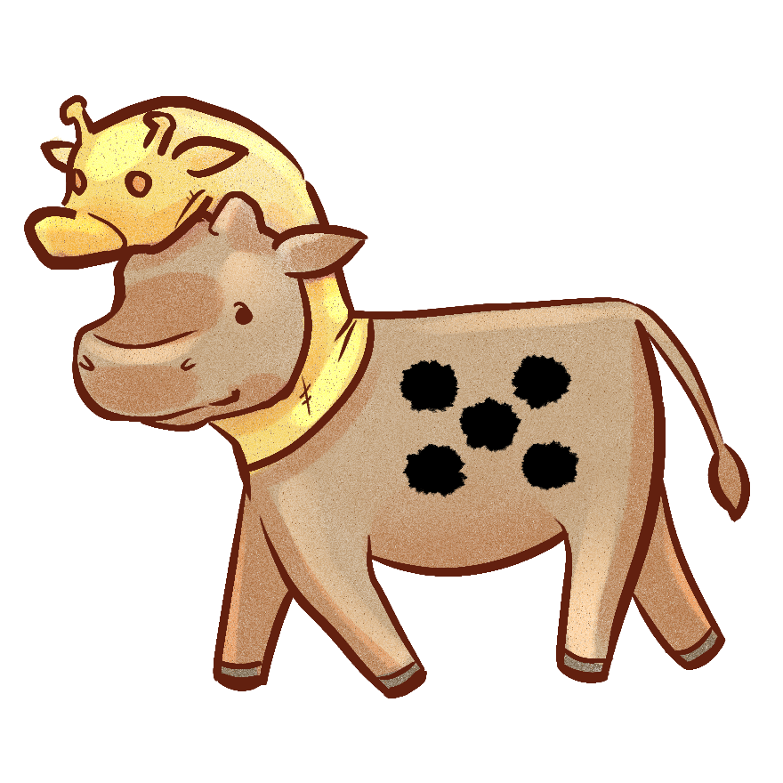 kraalcows-giraffe