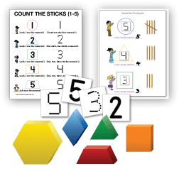 Graphic of Manipulatives