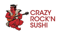 Logo of Crazy Rock'n Sushi